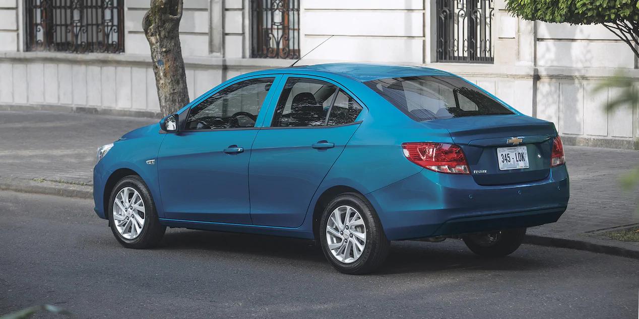 El diseño del Chevrolet Aveo 2020 precio en México luce moderno, pero no ganará ningún premio en este apartado