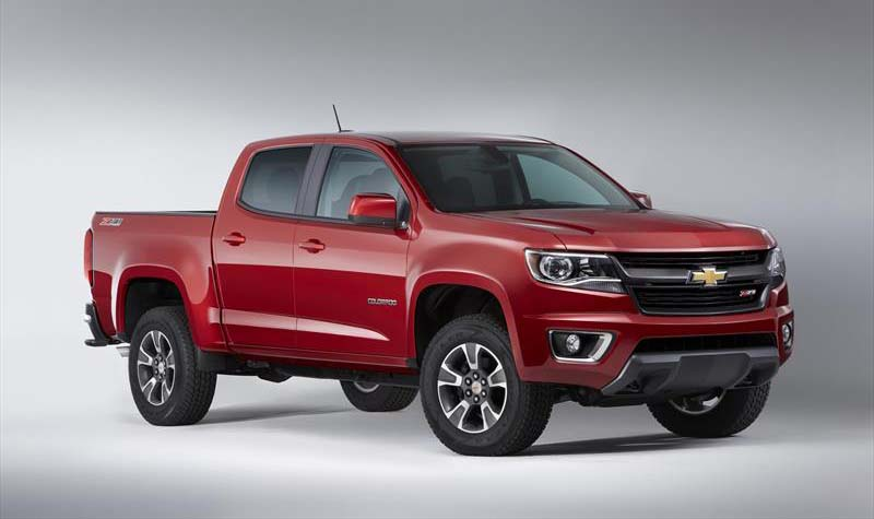 La Chevrolet Colorado Mejor pick up mediana