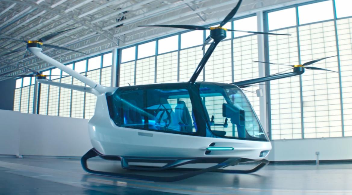 El Skai Flying Car es un vehículo volador con 640 km de autonomía
