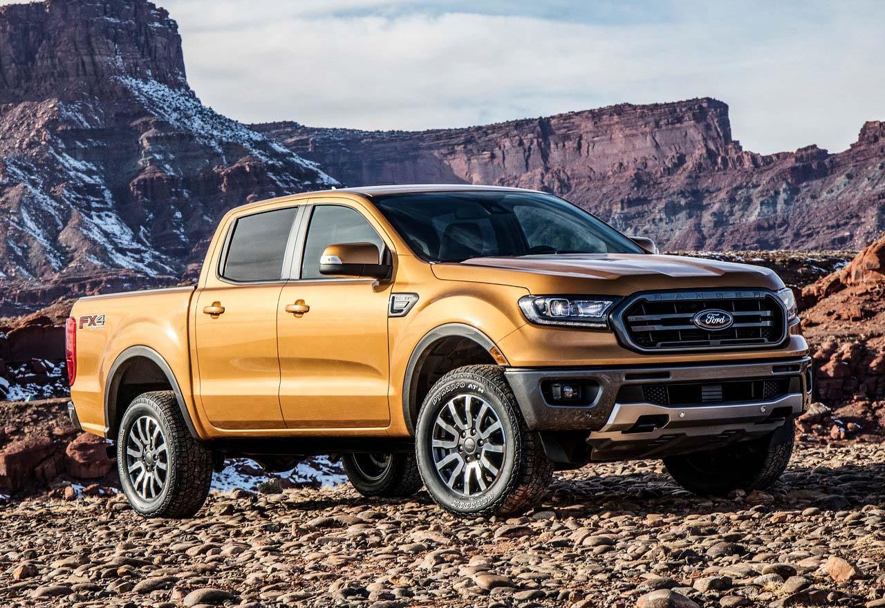La Ford Ranger Mejor pick up mediana