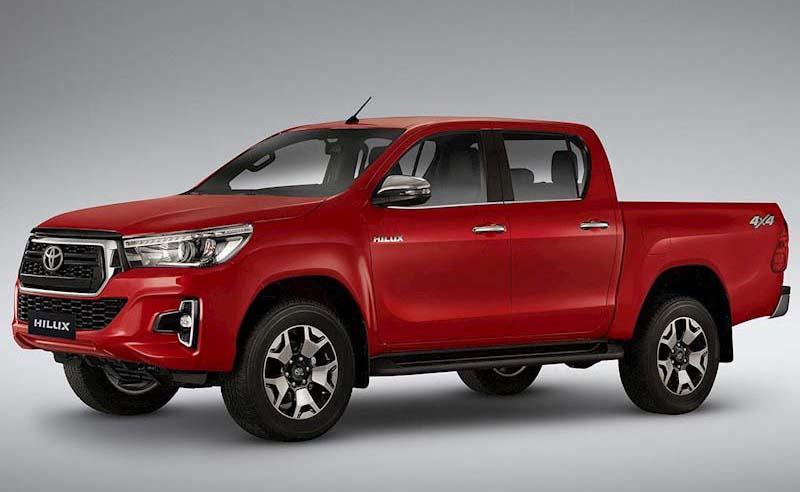 La Toyota Hilux 2019 Mejor pick up mediana