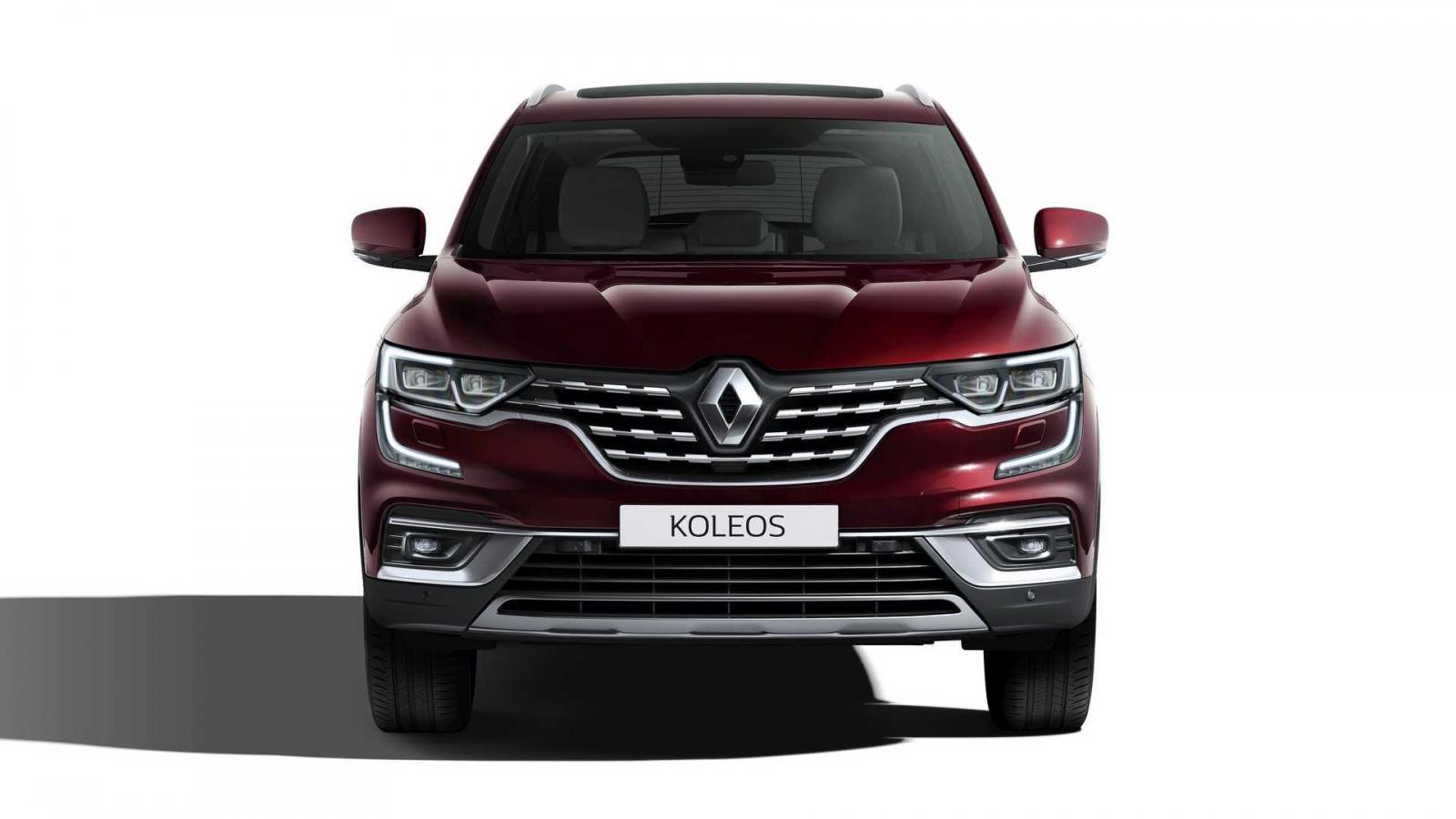 La Renault Koleos 2020 sufrió ligeros cambios estéticos en el exterior