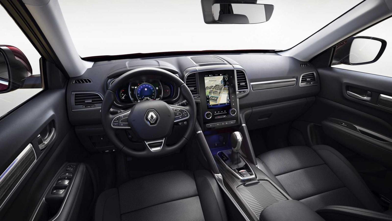 La Renault Koleos 2020 presume una cabina espaciosa y con buenas sensaciones al tacto