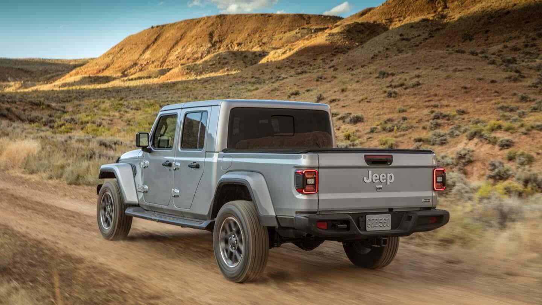 La Jeep Gladiator 2020 fue presentada en el Auto Show de Los Ángeles