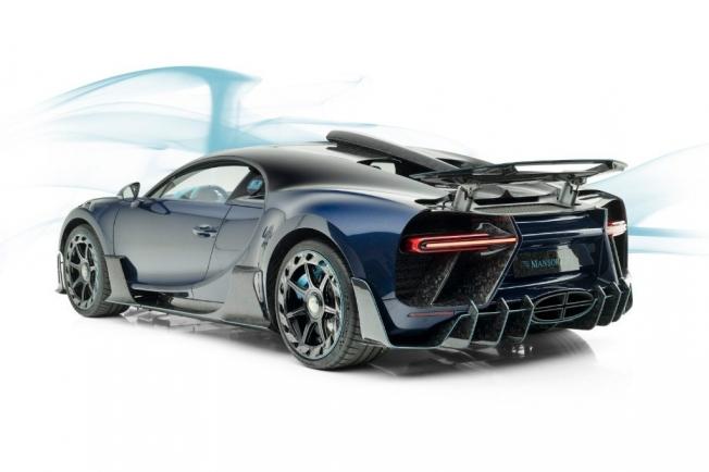 El Bugatti Chiron Centuria by Mansory puede ser tuyo si te sobran 93 millones de pesos