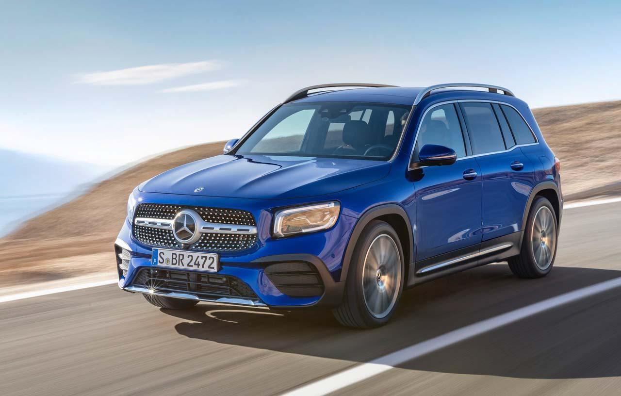 La Mercedes-Benz GLB contará además con el avanzado sistema multimedia inteligente