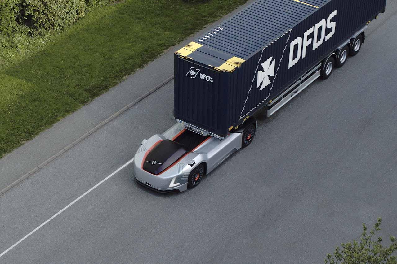 Vera, el camión autónomo de Volvo iniciará operaciones en Gotemburgo