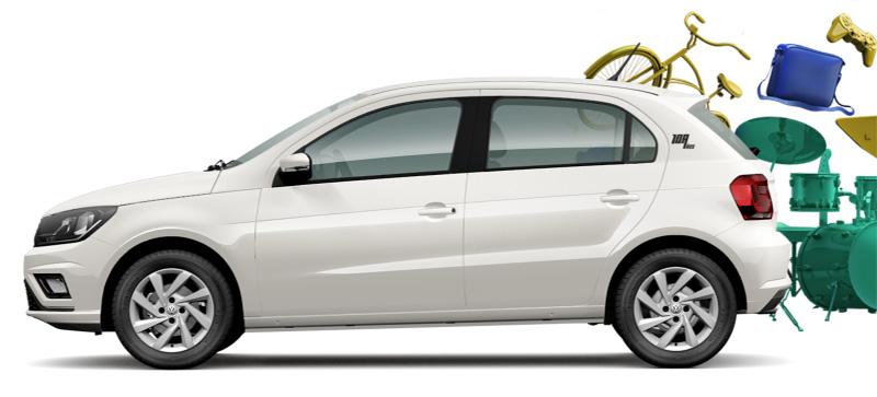 El Volkswagen Gol Edicion Aniversario no ha tenido grandes cambios