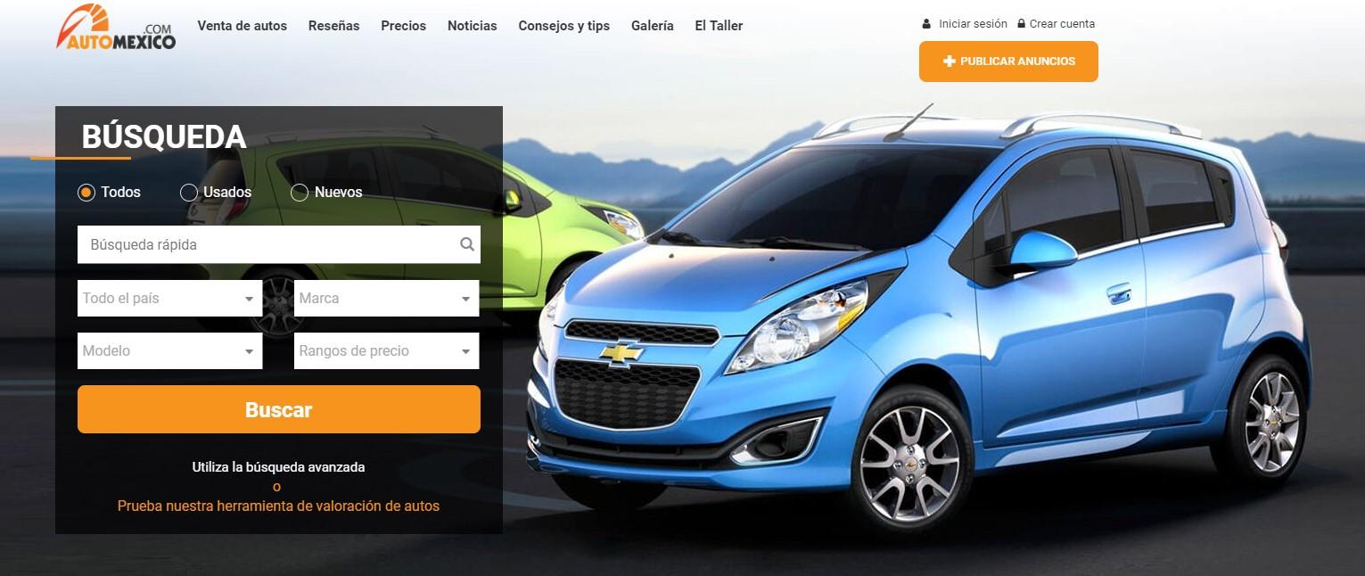 Mejor lugar para comprar autos usados: Automexico la página web de compra y venta de autos más confiable en México