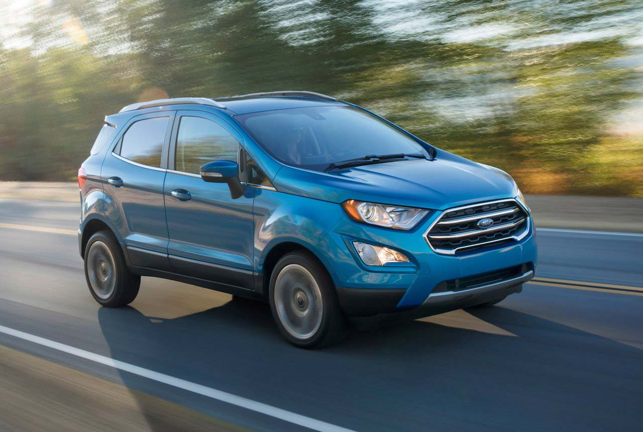 La Ford EcoSport Impulse 2019 es la creadora del segmento