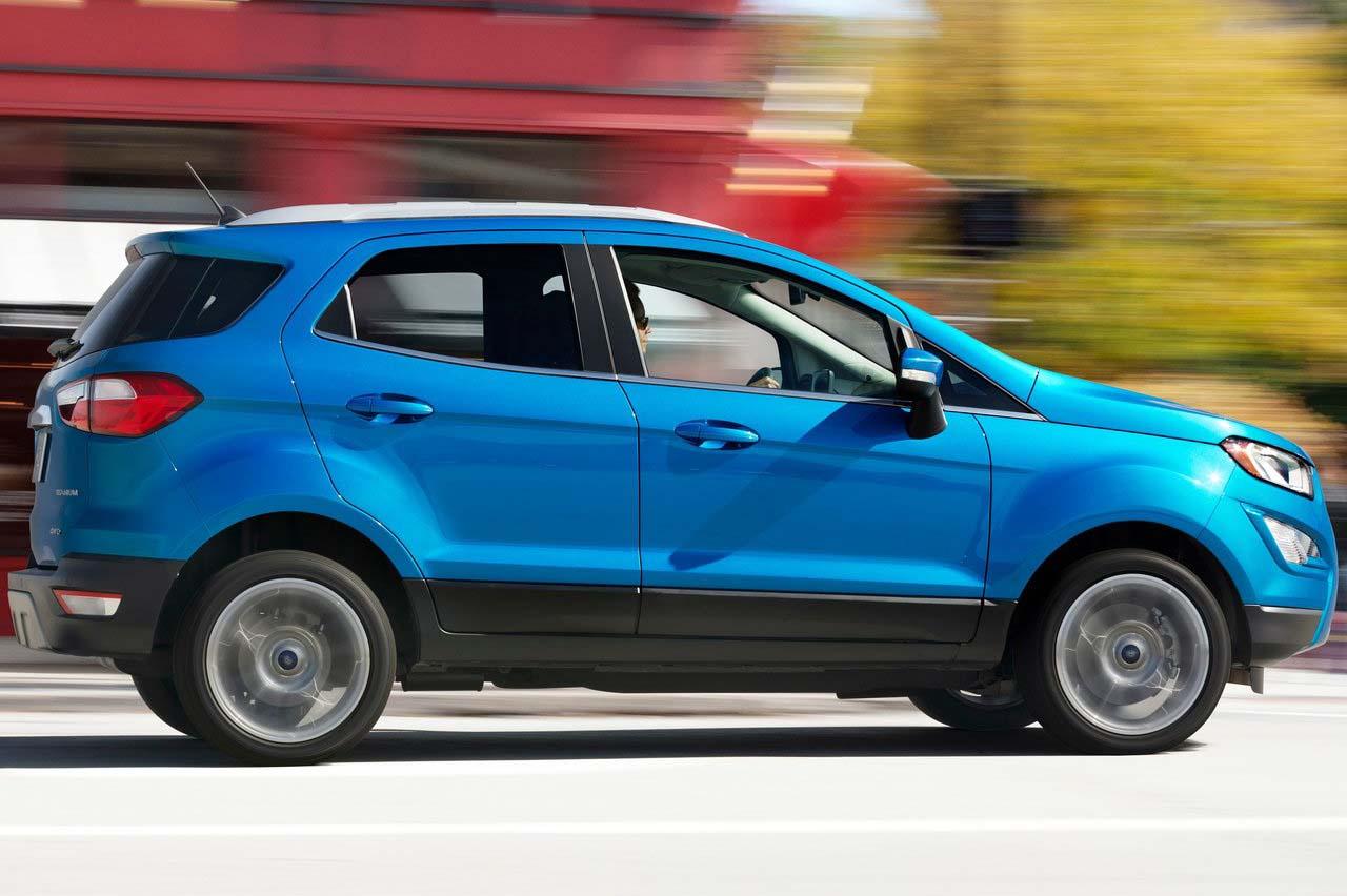 La Ford EcoSport Impulse 2019 es la versión de entrada de este modelo