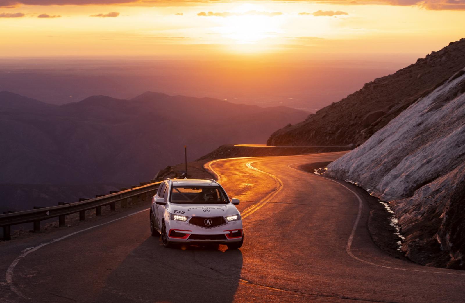 Estos son los coches con los que Acura quiere conquistar Pikes Peak