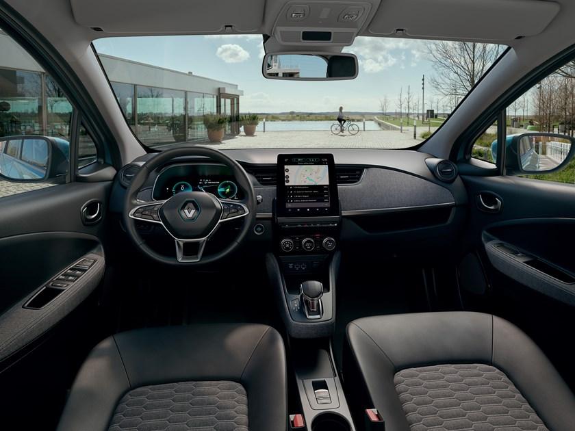 Renault presentó el nuevo Zoe