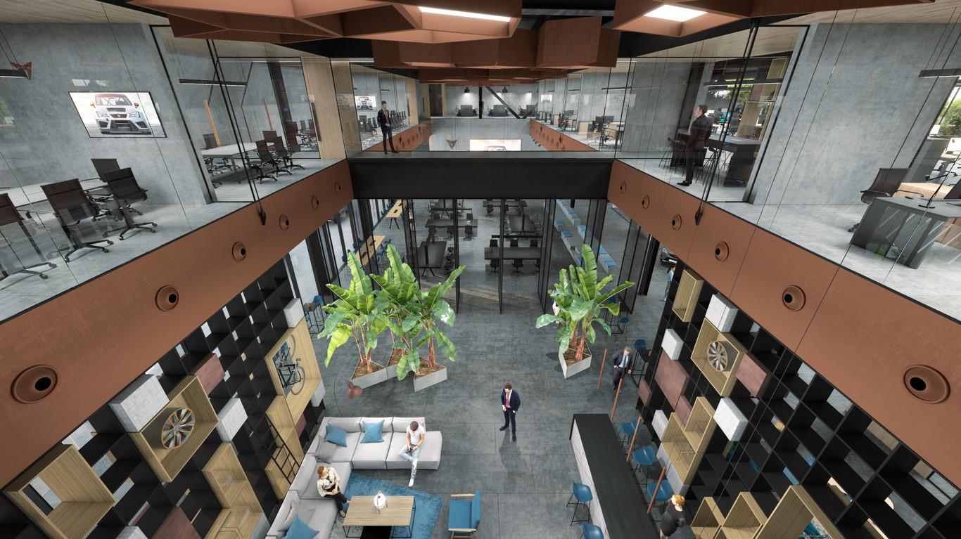 El edificio tendrá 2 plantas y estará localizado junto a SEAT en Martorell