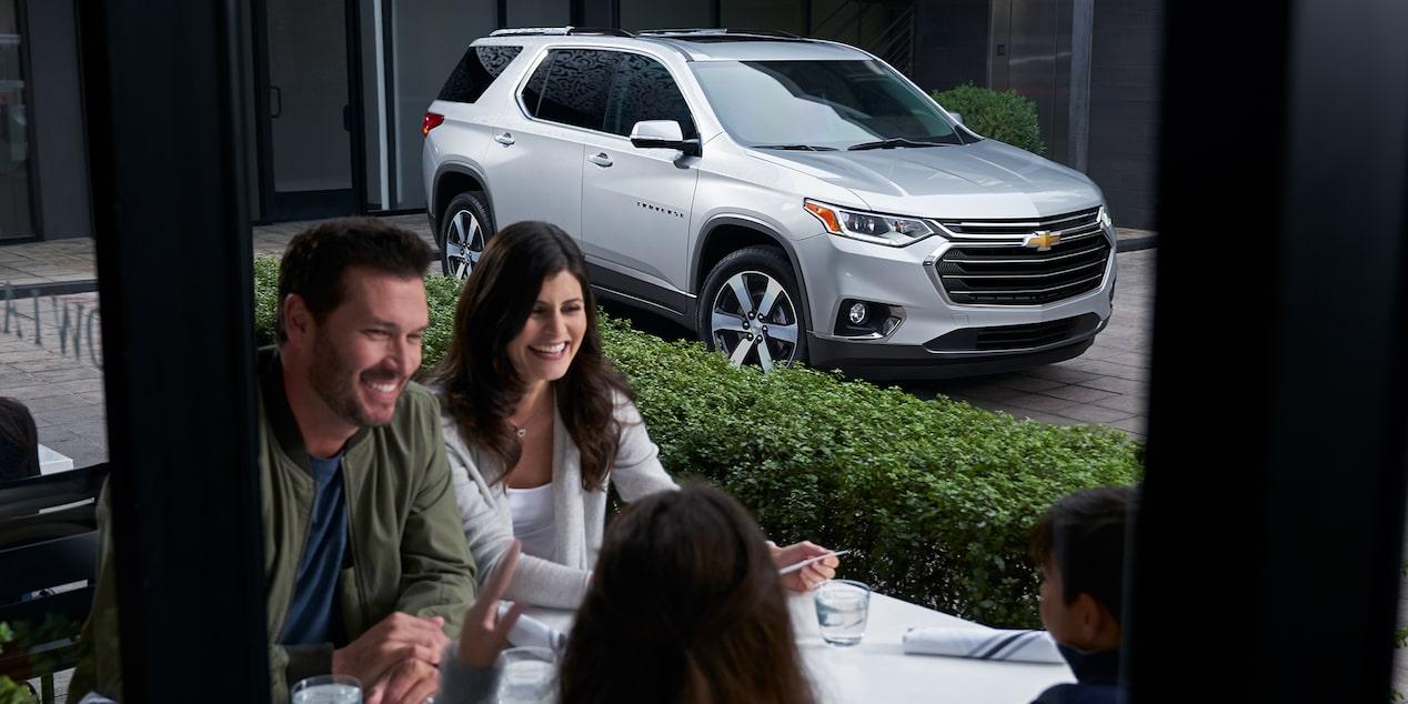 La Chevrolet Traverse LT 2019 es una opción a considerar para las familias numerosas