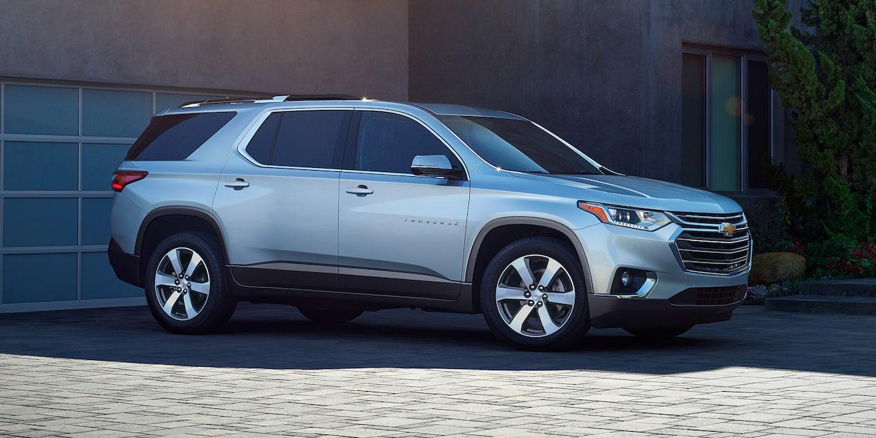 La Chevrolet Traverse LT 2019 luce un diseño imponente y elegante