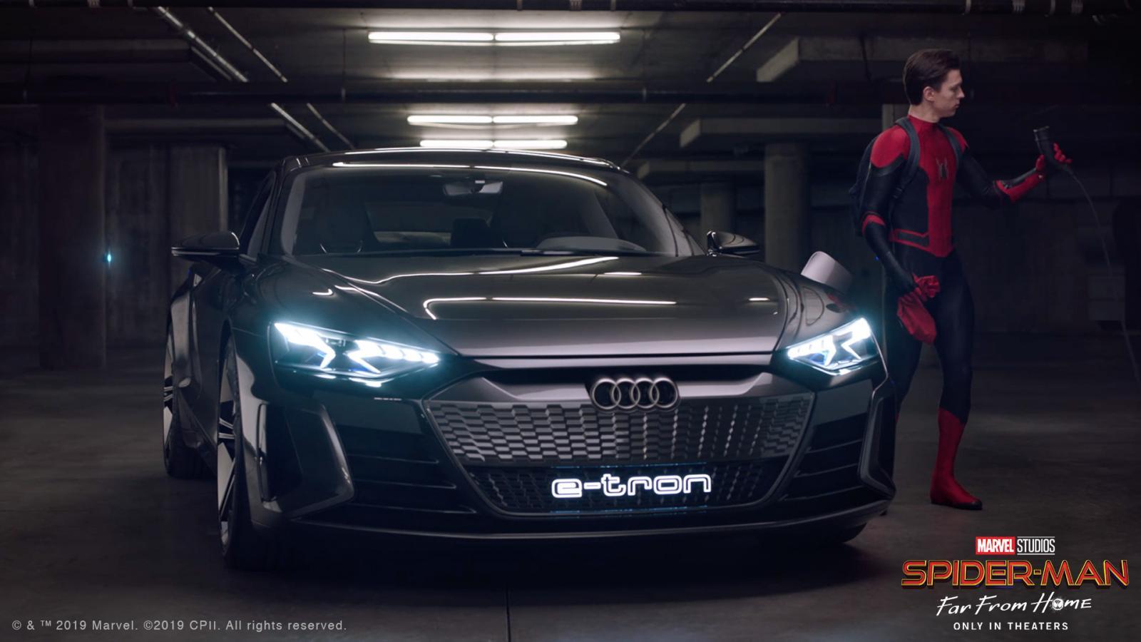 El Audi E Tron Gt Llega Para Salvar A Spiderman