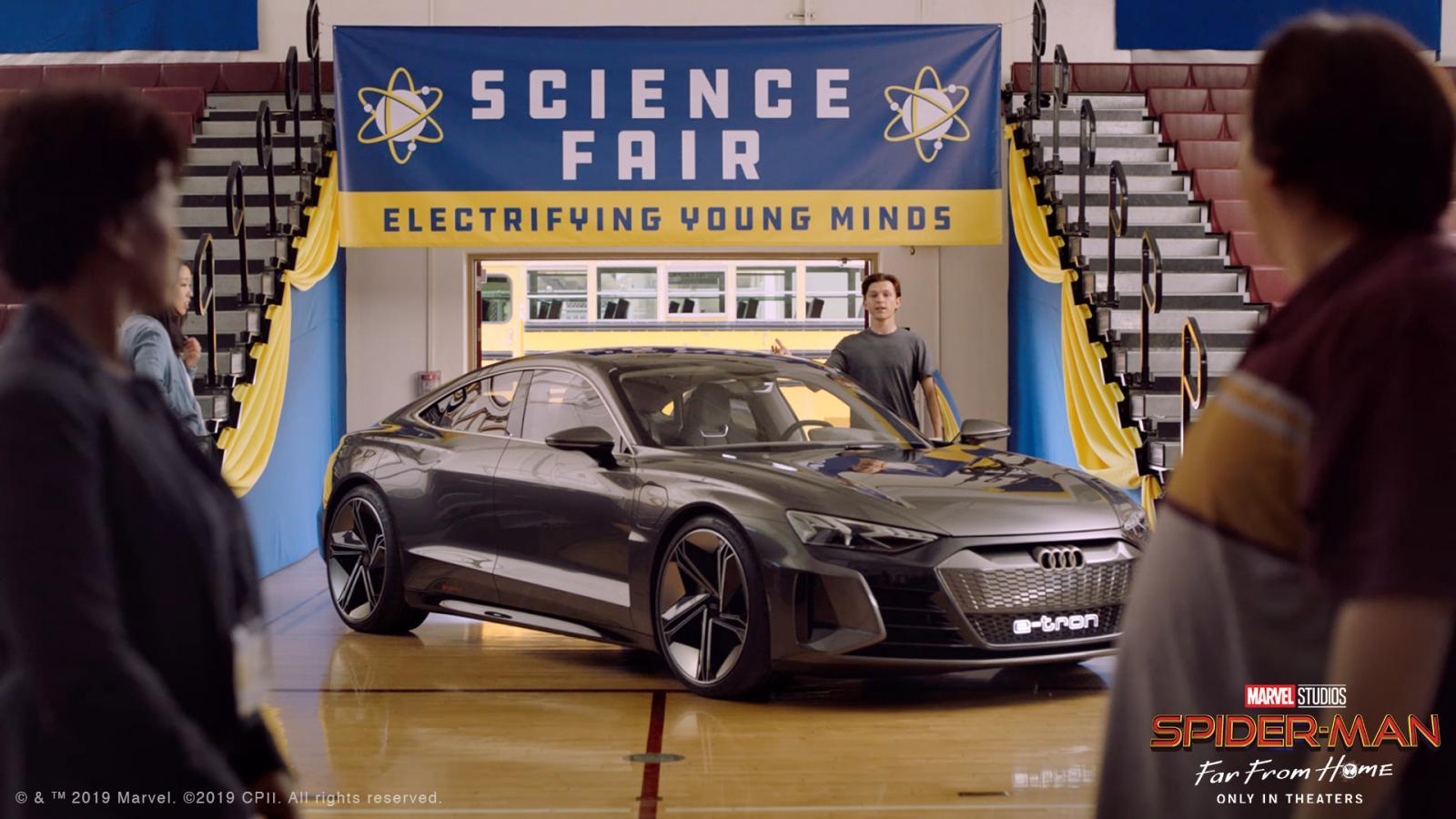 El Audi e-Tron GT llega para salvar a Spiderman