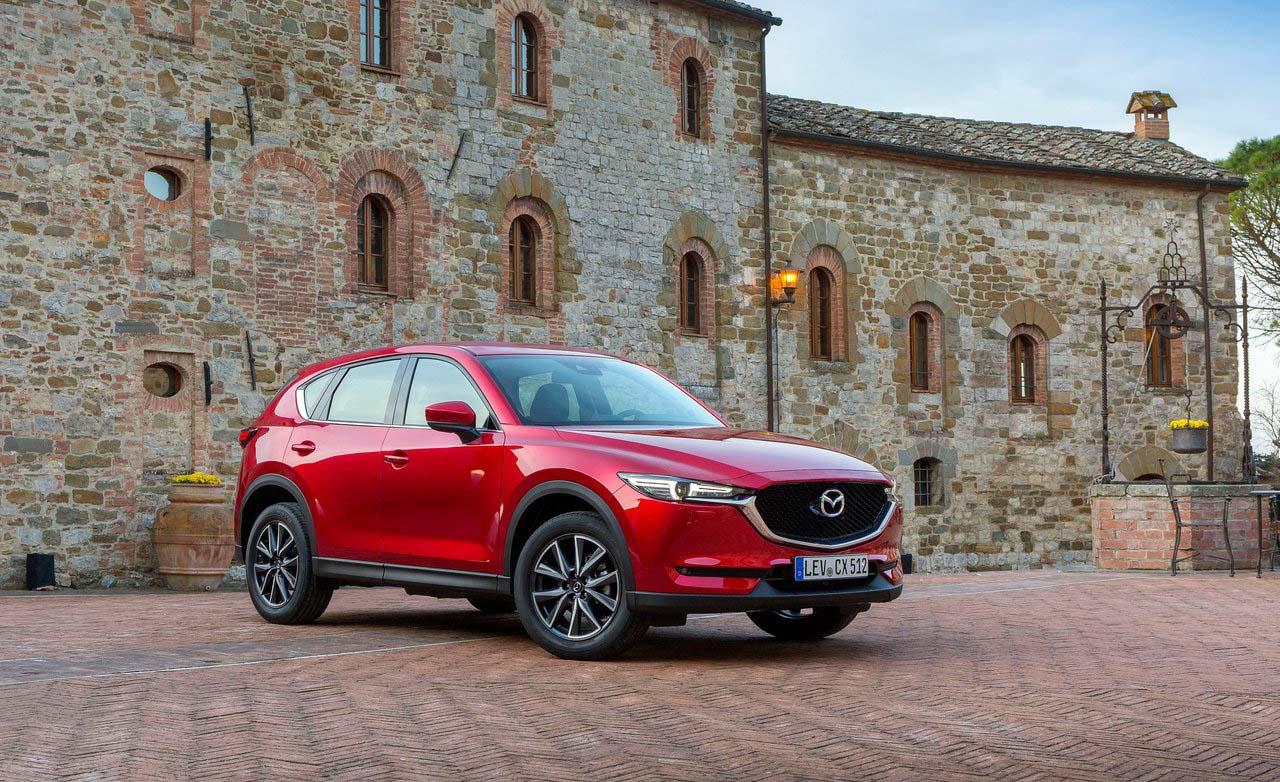 La Mazda CX-5 Signature 2019 tiene un motor cuatro cilindros turbo de 2.5 litros