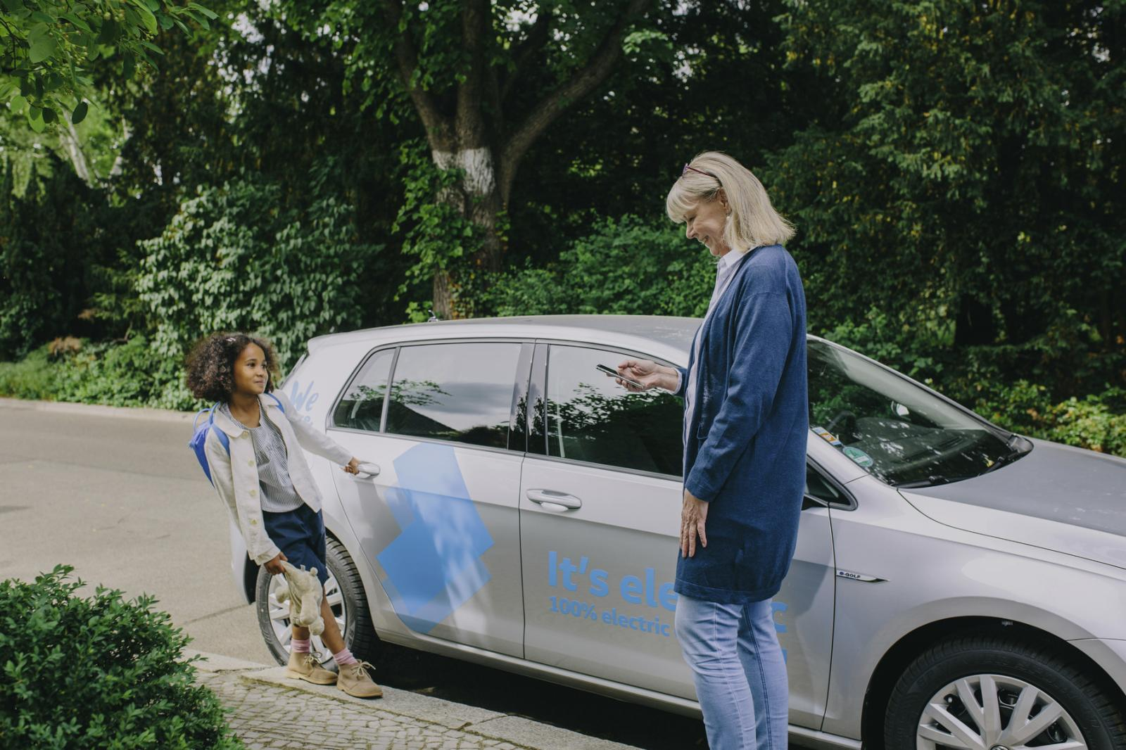 Volkswagen e-Golf WeShare