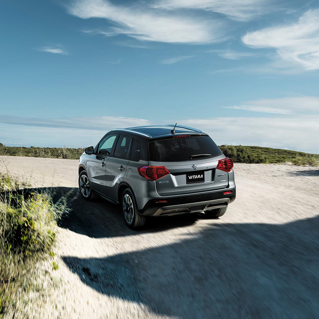 La Suzuki Vitara Boosterjet 2019 tiene un manejo entretenido