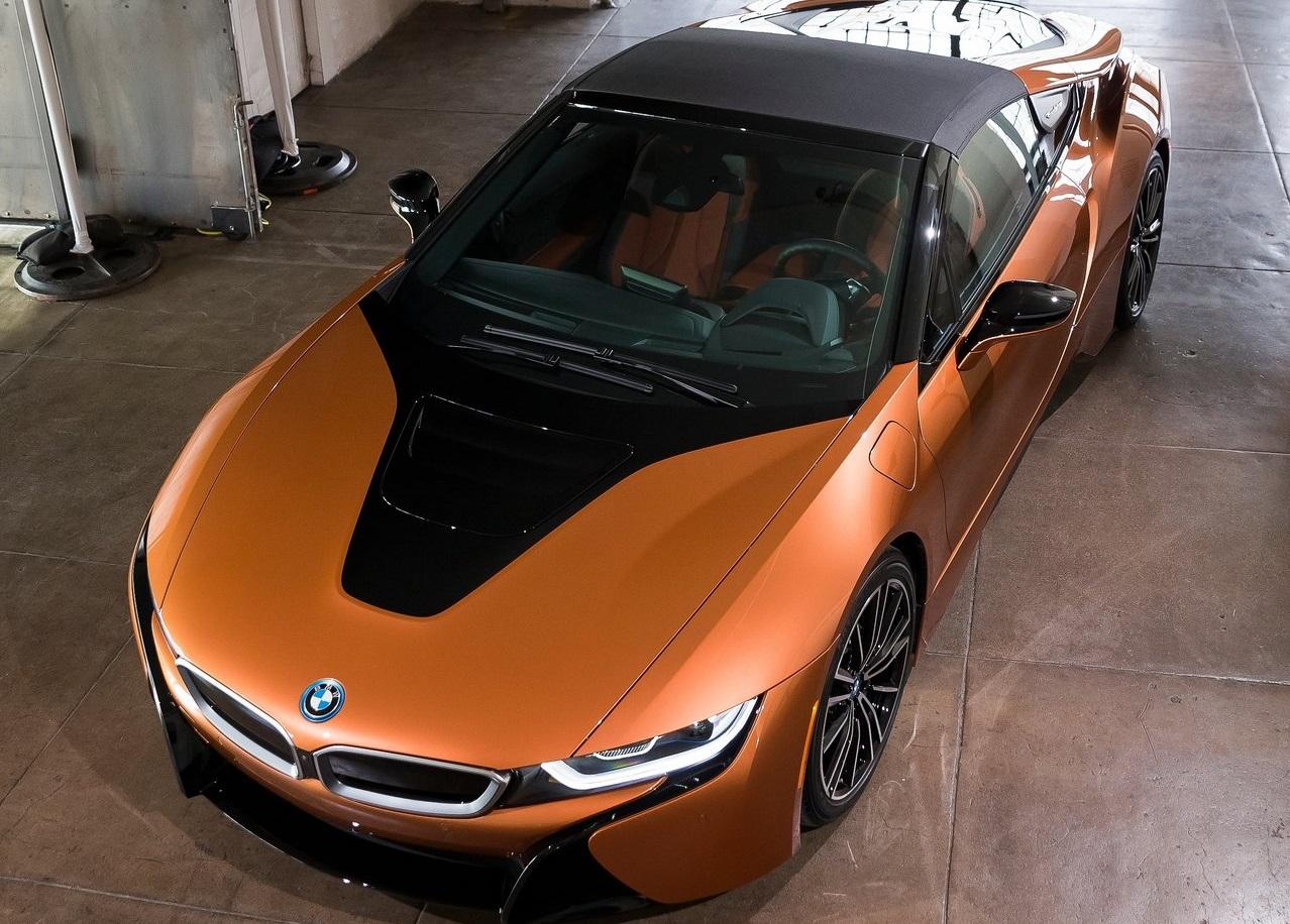 BMW i8 frontal