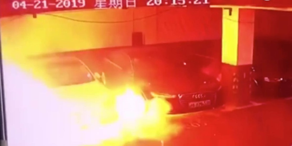 Tesla Model S explota Shanghái
