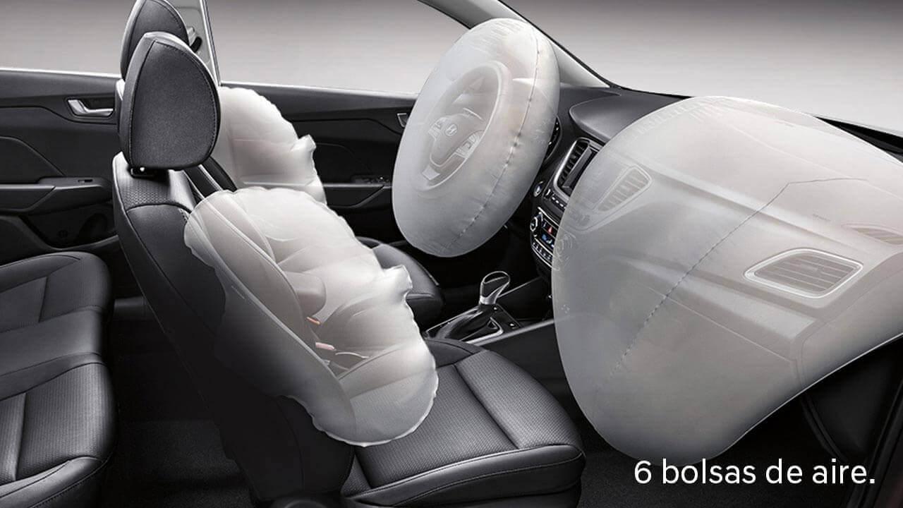 El Hyundai Accent 2020 precio queda a deber en las versiones más básicas en el apartado de seguridad