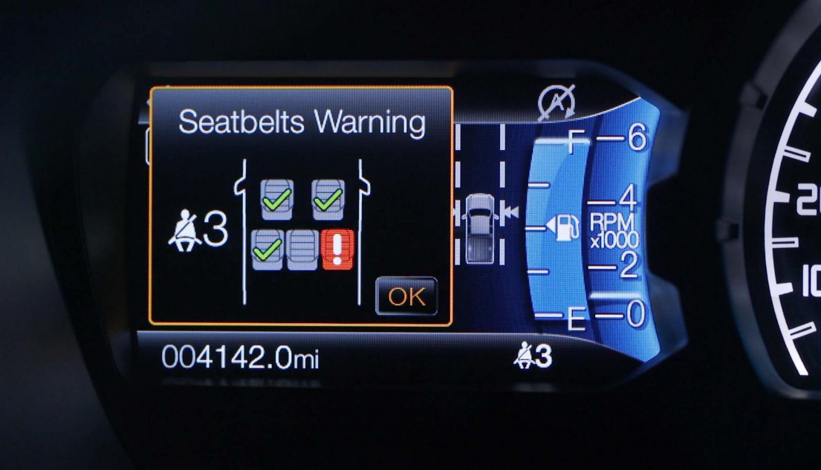 El Belt Monitor avisa cuando alguien se quita el cinturón