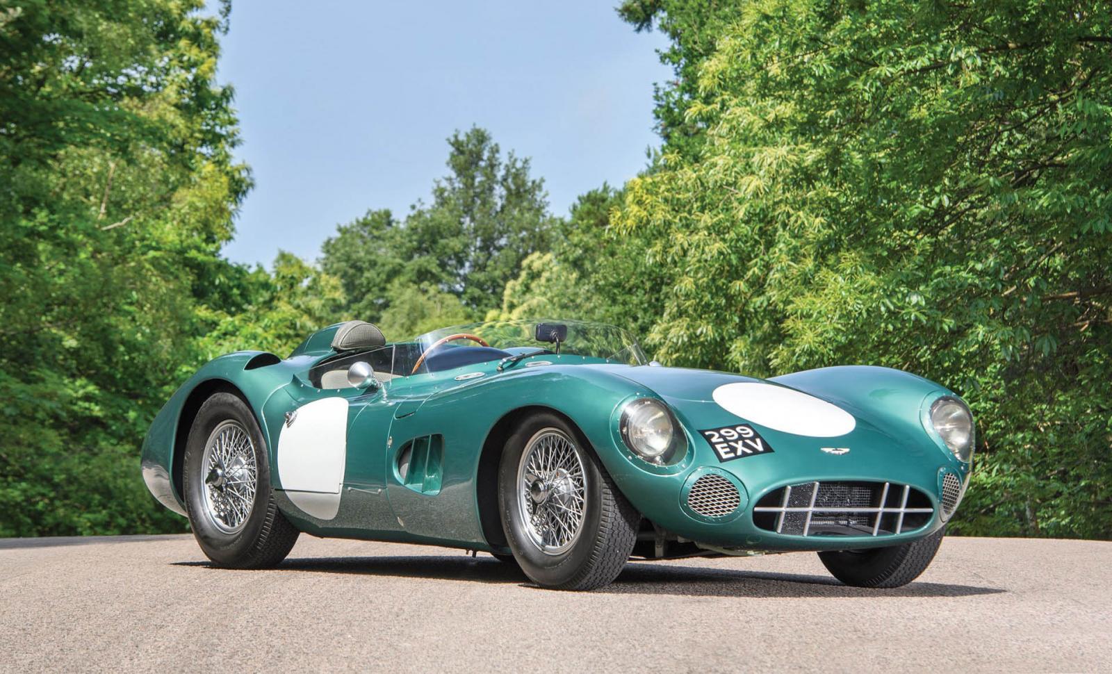El Aston Martin DBR1 1956 es de los pocos modelos de la marca que se han subastado