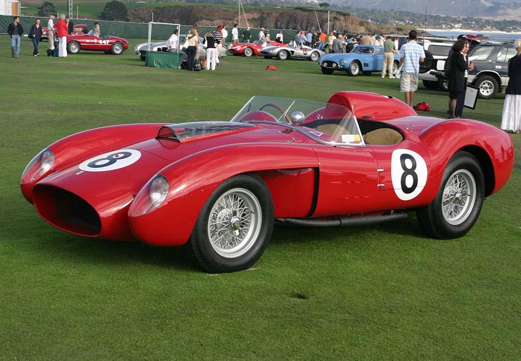 Del Ferrari 335 S 1957 solo existen 4 unidades