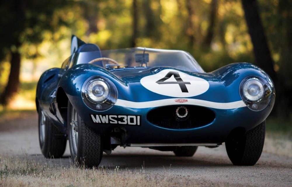 El Jaguar D-Type 1955 ganó las 24 horas de LeMans