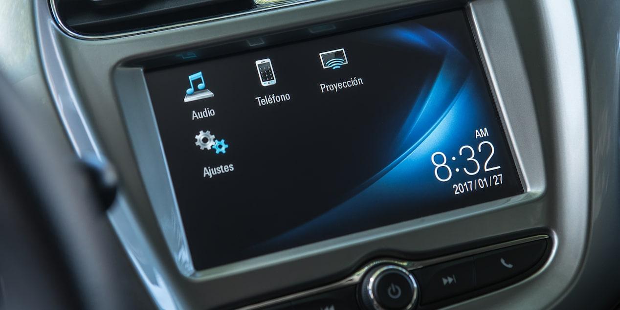 El Chevrolet Beat 2020 precio en México cuenta con tecnología básica para el infotenimiento