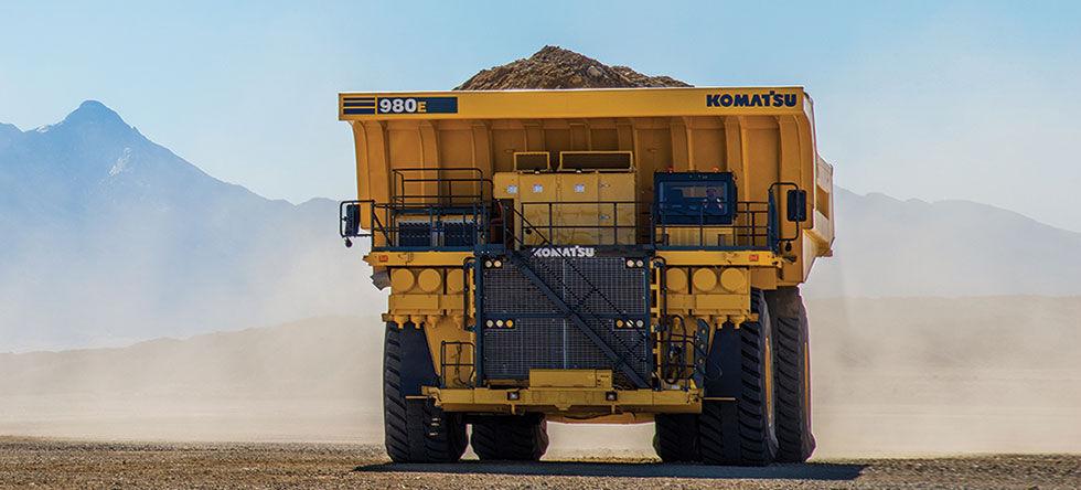 Camiones mas grandes del mundo Komatsu 980E-4