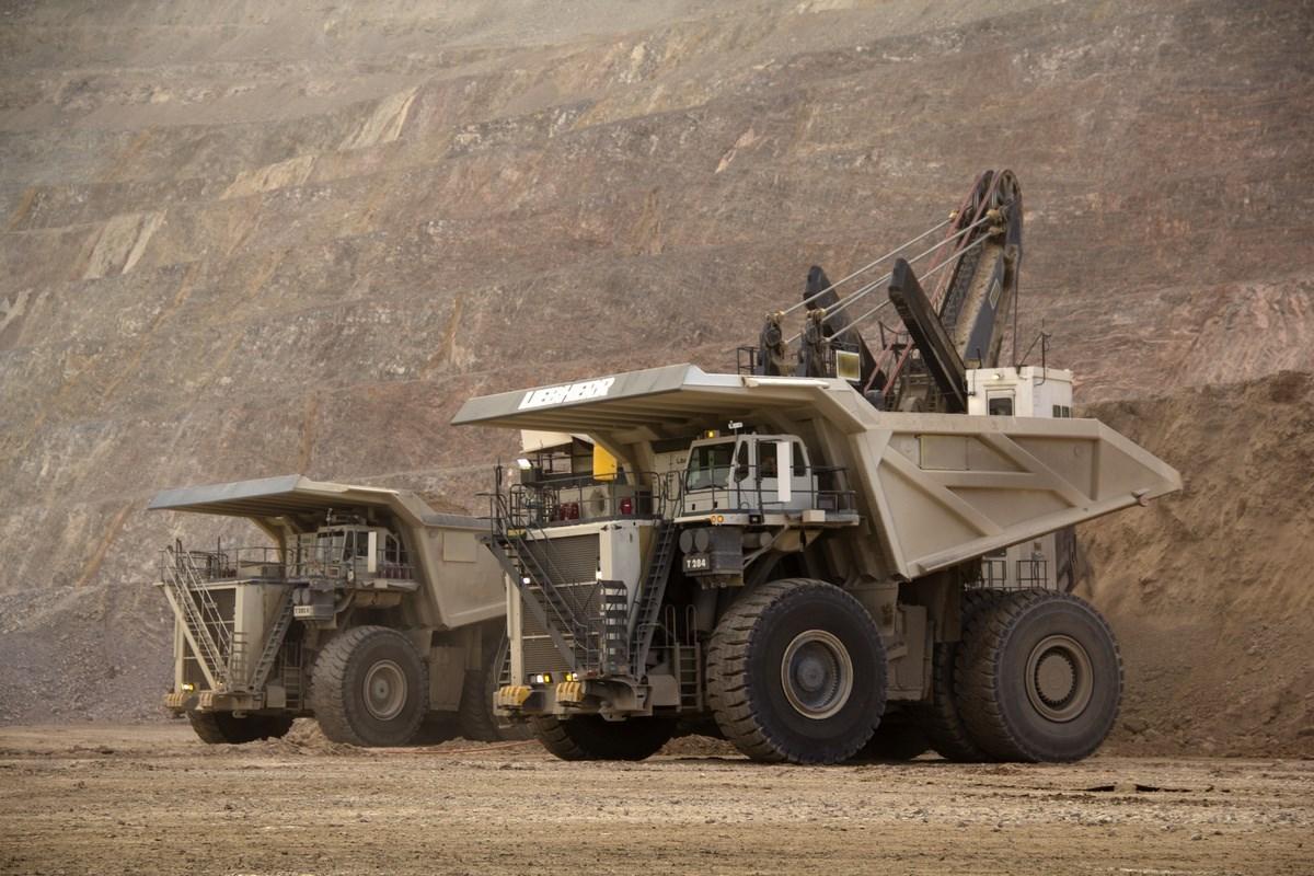Camiones mas grandes del mundo Liebherr T 284