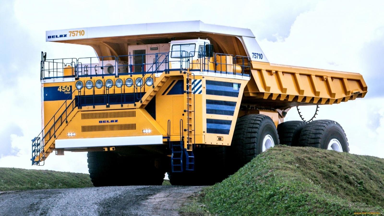 Camiones mas grandes del mundo BelAZ 75710