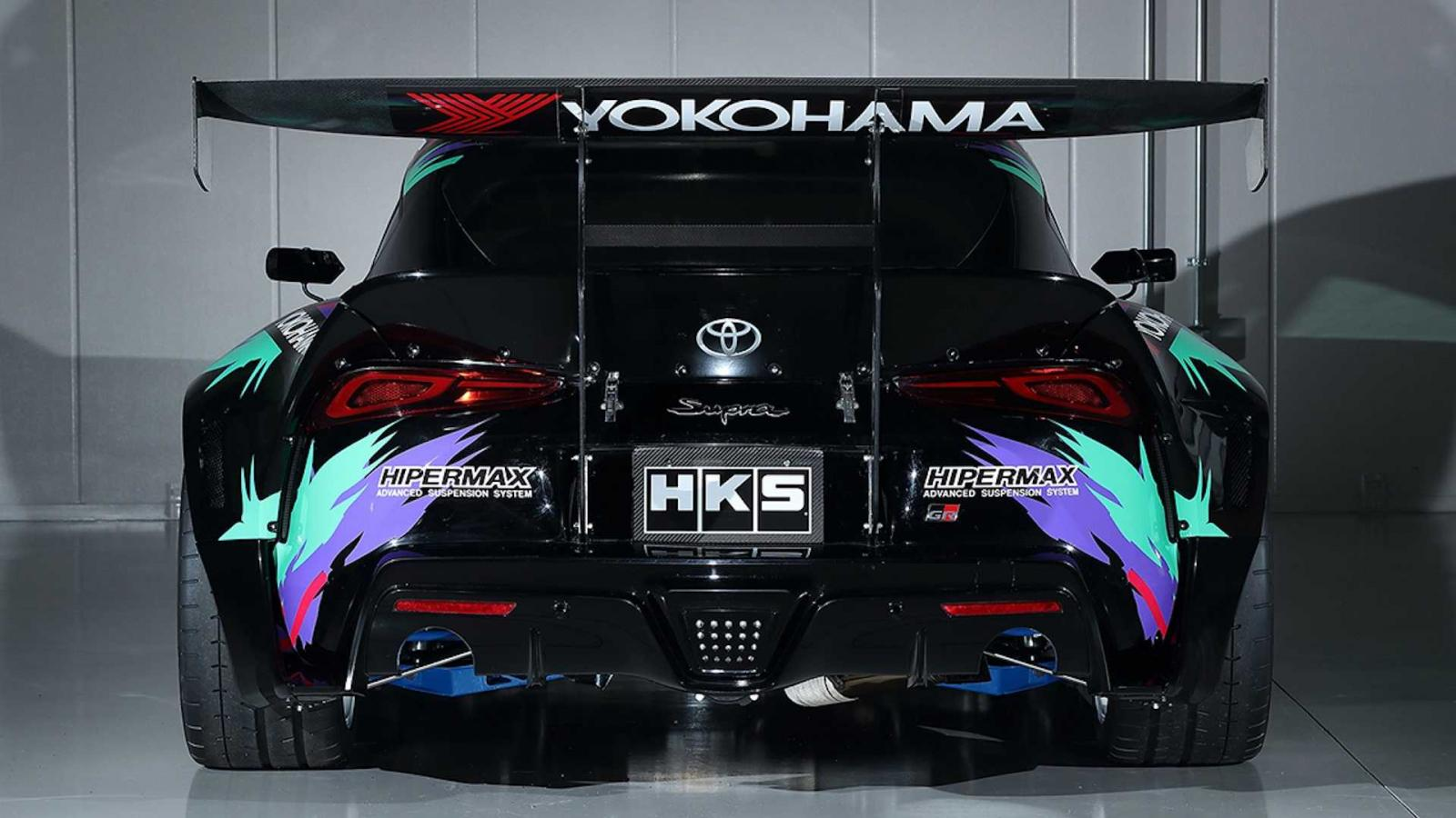 Toyota GR Supra Drift By HKS, listo para debutar en Goodwood