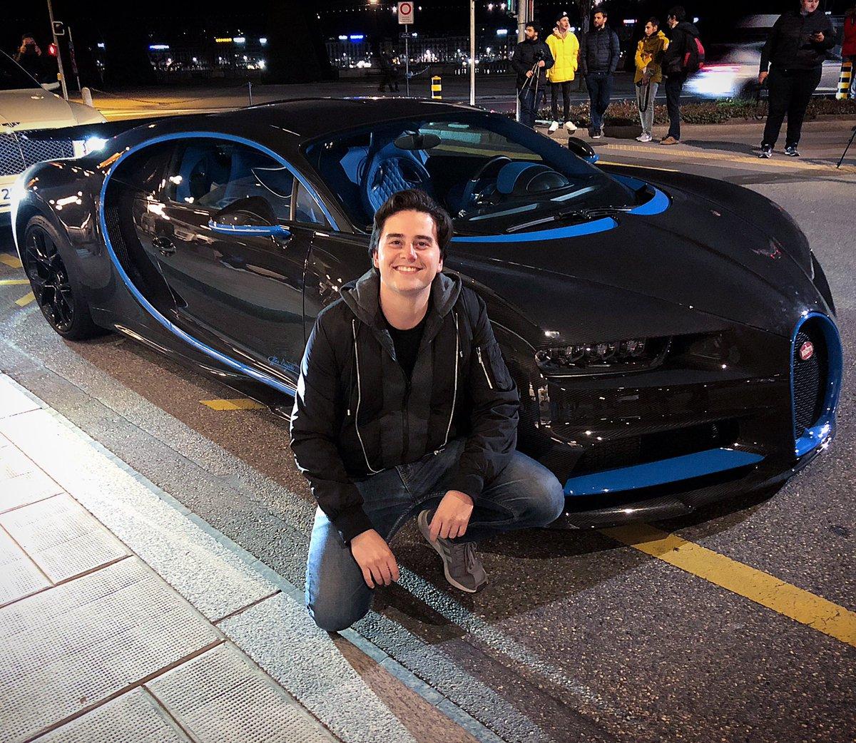 Fercho Urquiza Bugatti Chiron