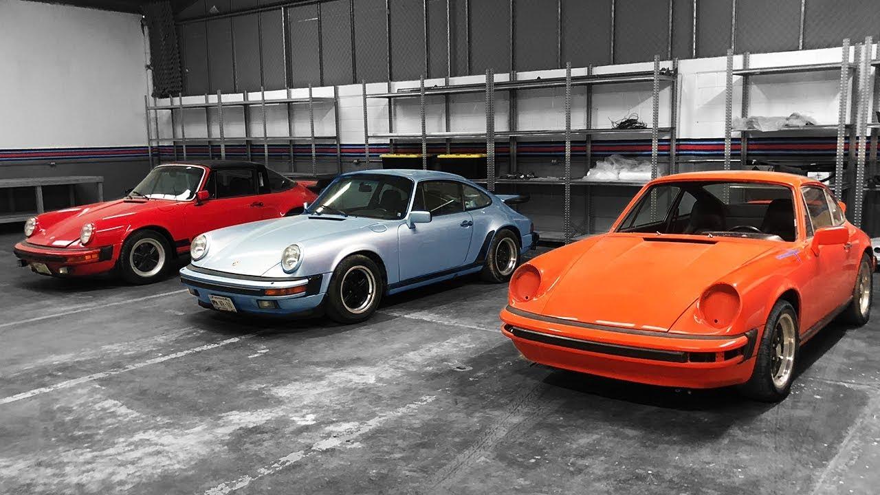 Fercho Urquiza taller Porsche