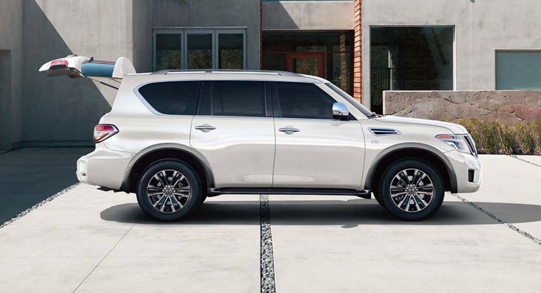 La Nissan Armada Exclusive 4WD 2019 es una SUV que proyecta elegancia y refinamiento