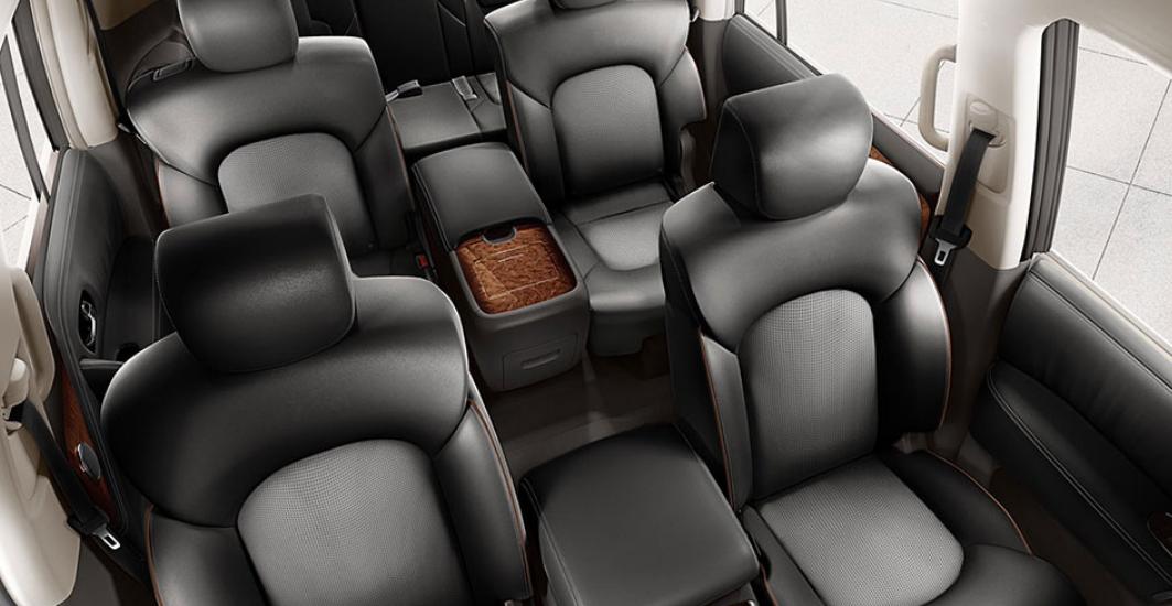 La cabina de la Nissan Armada Exclusive 4WD 2019 es de primer nivel al estar construida con materiales de alta calidad