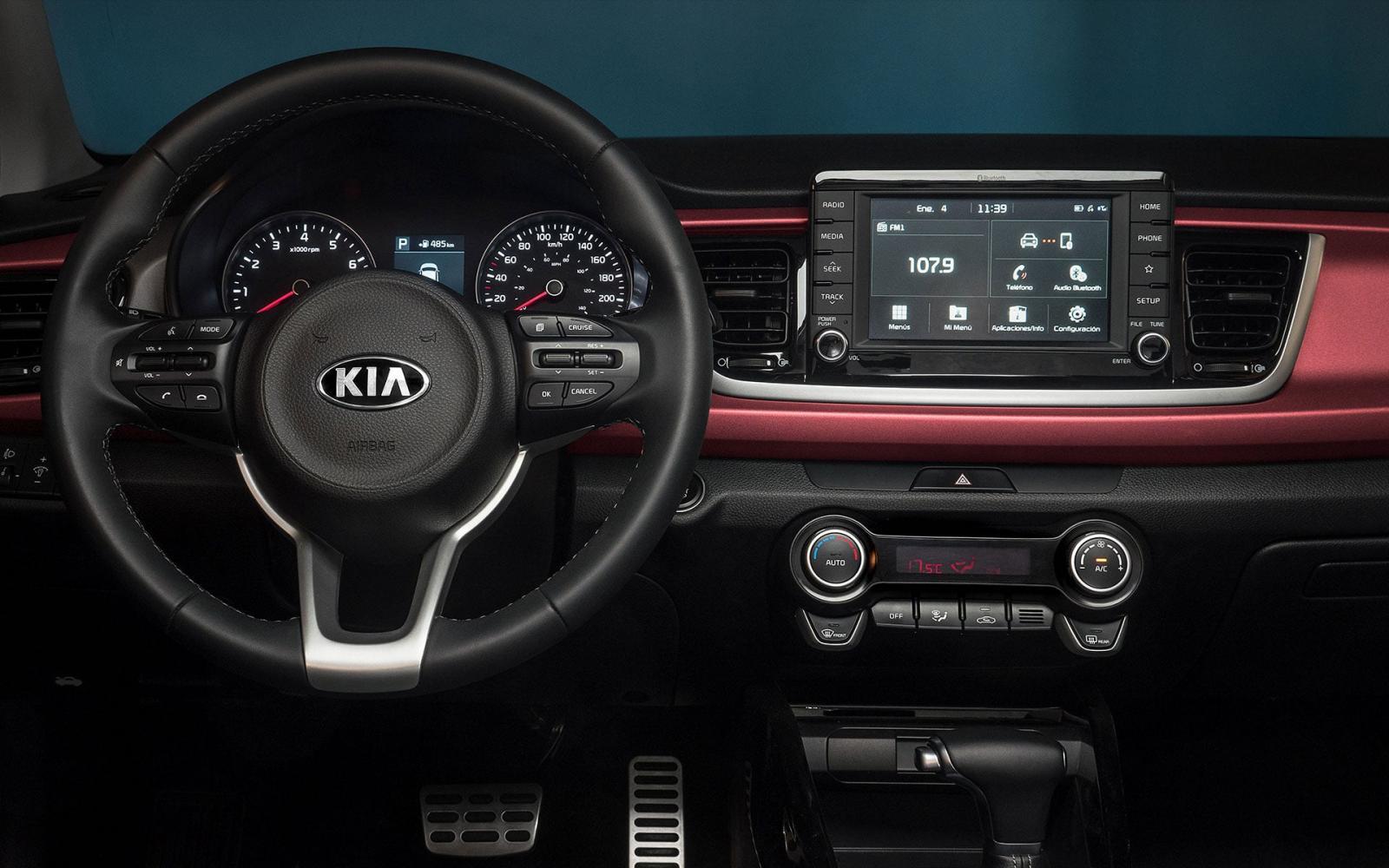 La tecnología del Kia Rio 2020 precio en México garantiza viajes entretenidos