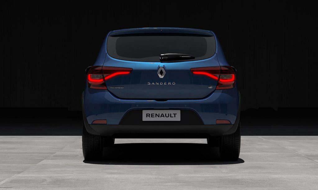 Renault Sandero 2020 parte trasera