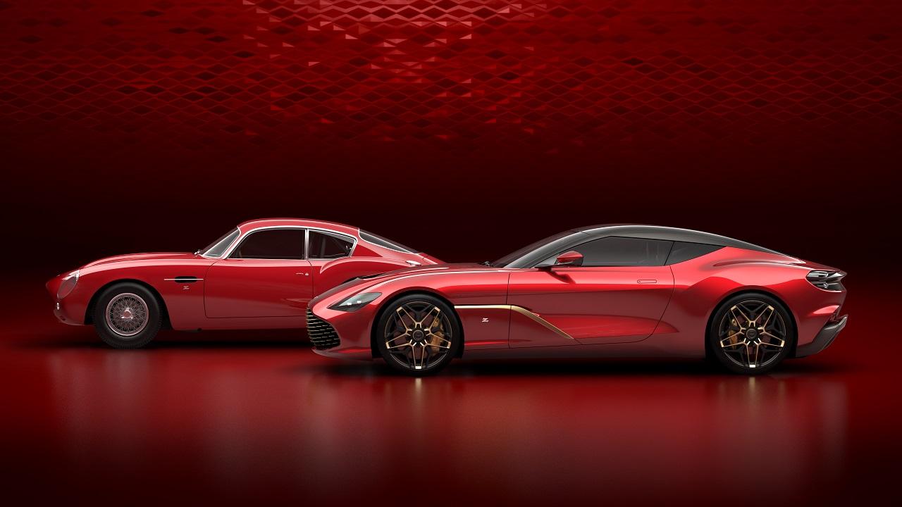 Aston Martin DBS GT Zagato, nuevas fotos del deportivo británico