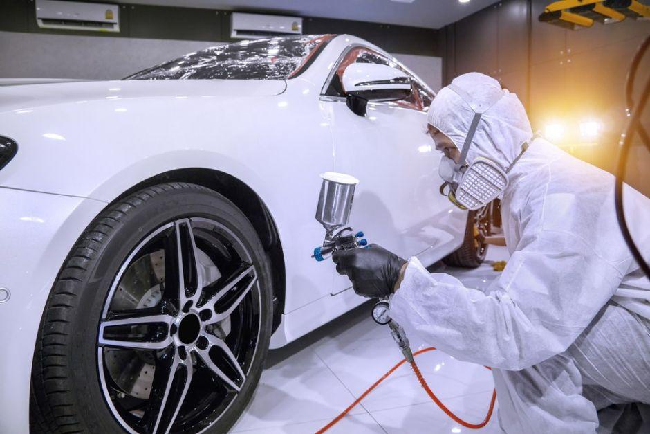 Cómo saber si tu auto quedó bien pintado