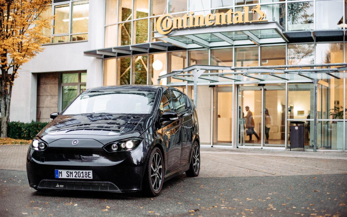 Continental coche eléctrico