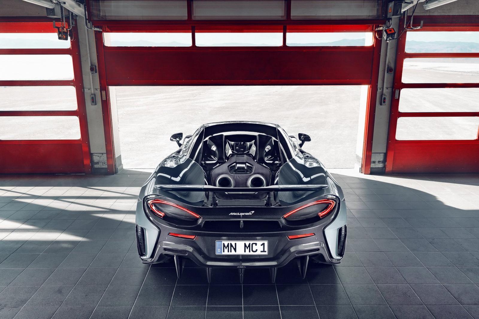 McLaren 600LT by Novitec, 87 caballos extras para el superdeportivo británico