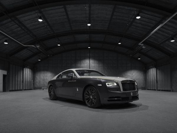 Rolls-Royce Wraith Eagle VII Collection celebra el primer vuelo trasatlántico