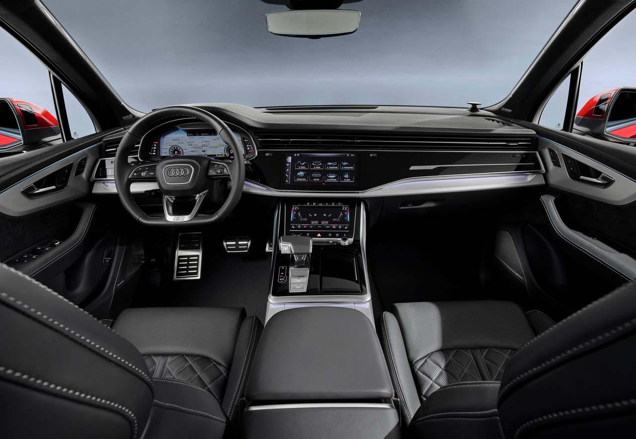 La Audi Q7 nos presume de una cabina muy sobria