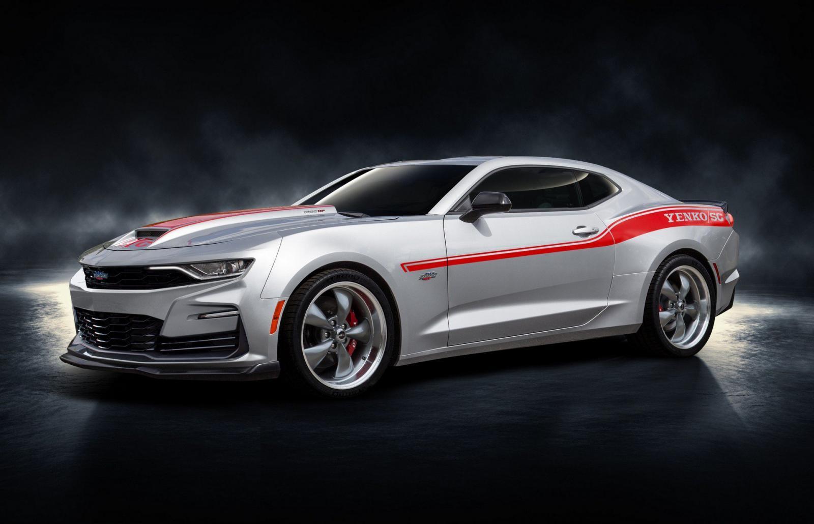 Chevrolet Camaro Yenko S/C 2020, el muscle car presume 1,000 caballos de fuerza
